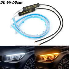 2x Auto LED Blinker Dynamische Streifen DRL Scheinwerfer Tagfahrlicht Lampe Neu