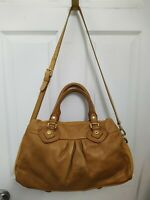 MARC by MARC JACOBS Camel 'Classic Q Baby Groovee' Leather Satchel Crossbody Bag
