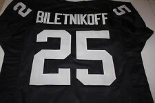FRED BILETNIKOFF #25 SEWN STITCHED HOME THROWBACK JERSEY SIZE XLG SB XI MVP