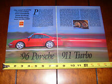 1996 PORSCHE 911 TURBO  - ORIGINAL ARTICLE