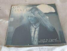 """Kim Carnes - """"Just To Spend Tonight With You"""" (1988) UK CD Single (Used=Ex)"""