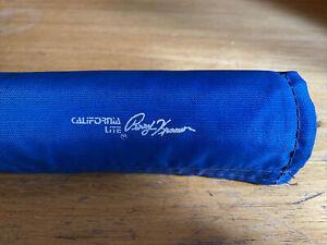 NOS CALIFORNIA LITE Perry Kramer Handlebar Pad BLUE Old School BMX PK Ripper