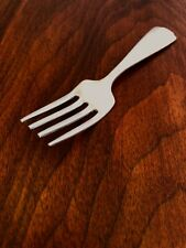 - Webster Co. Sterling Silver Baby Fork: Pattern Wsc31 No Monogram