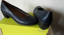 """Hotter Leather Shoes Size 8 STD """"Lydia"""" Comfort Concept Block Heel  Brand New"""