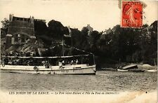 CPA  Les Bords de la Rance - Le Port Saint-Hubert et Pile du Pont en... (298127)