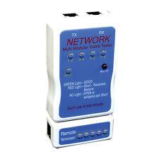 New CF-568 LAN Network Multi-Modular Cable Tester for RJ45 & RJ11