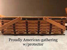 Longaberger Proudly American Medium Gathering Set with Protector