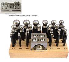 Doming Set 25 Pezzi & 14 PEZZI Disco Cutter Set in acciaio massiccio