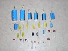 Rockola Jukebox Stereo Amp Rebuild Cap Capacitor Kit For Models 404 And 408