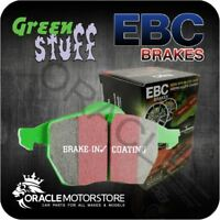 NEW EBC GREENSTUFF FRONT BRAKE PADS SET PERFORMANCE PADS OE QUALITY - DP21325