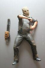 "Resident Evil 4 CHAINSAW GANADO 7.5"" Action Figure NECA 2005"