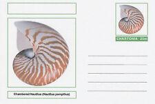 """Cinderella 4710-armazones - """"chambré"""" Nautilus en tarjeta postal stationery de fantasía"""