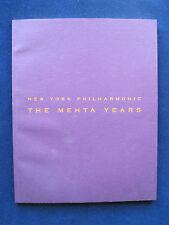 Tribute to NY Philharmonic Conductor ZUBIN MEHTA - SIGNED by ZUBIN MEHTA