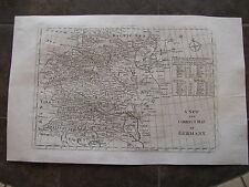 1787 ORIGINAL Large Map of Germany, Kingdom of Prussia, Bohemia, Austria