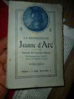 Nouvelle vie illustrée LA BIENHEUREUSE JEANNE D'ARC Henri Debout