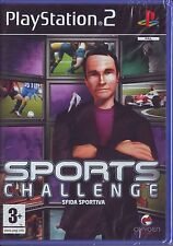 SPORTS CHALLENGE (2008) PS2 PAL ITA ORIGINALE NUOVO RISIGILLATO*
