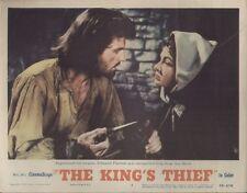 King's Thief, The 11x14 Lobby Card #4