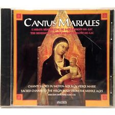 Cantus Mariales: Sacred Chants to the Virgin Mary CD, Original Factory Sealed