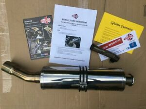 BMW F800 GS Beowulf Stainless Steel Exhaust, very little use.