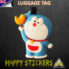 Japanese Cartoon Doraemon Cat Travel Luggage Baggage School Bag Tag Label