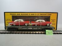 RAIL KING 30-7610 MTH LINES ETRL 57 CHEVUS SEMI-SCALE FLAT CAR O.B.