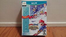 Mario & Sonic at the Sochi 2014 Olympic Games Bundle (Nintendo Wii U, 2013) NEW