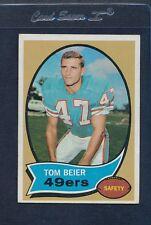 1970 Topps #064 Tom Beier 49ers EX *424