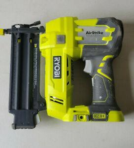 RYOBI 18-Volt ONE+ Cordless AirStrike 18-Gauge Brad Nailer (Tool Only) P320