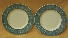 "2 UNUSED Royal Doulton Cascade 6.5"" Side Plates D6457 - more available"
