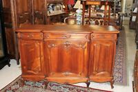 French Antique Louis XV Walnut Sideboard / Buffet c 1880 | Dining Roon Furniture