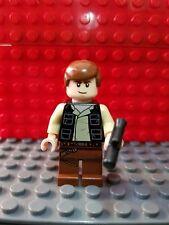 Lego GENUINE Minifigure Han Solo from 10236 Ewok Village sw451 FREE SHIPPING