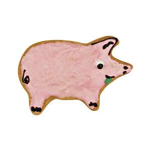 Ausstecher / Ausstechform,  Schwein 8 cm
