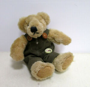 Teddybär mit grüner Latzhose - Sunkid