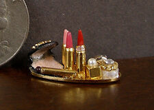 PATSY  MAC  ~ MAKE  UP  TRAY ~ 1:12th scale ~ Dollhouse Miniature ~ Room Box