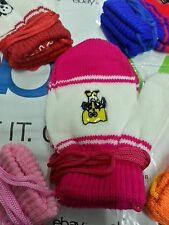 1 pair Wollen cotton just born Baby Hand Gloves 0 to 2 years