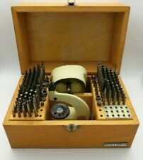 Watchmakers Boley Staking Set (punching riveting tool) - EXCELLENT CONDITION