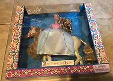 Renaissance Rose Barbie Doll & Horse Riding Gift Set NEW factory sealed