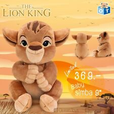 Disney The Lion King Movie SIMBA BABY Plush Doll Soft Toys Stuffed Animal  9""