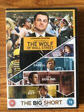 The Wolf of Wall Street/The Big Short (DVD, 2016) Brand New Sealed