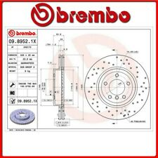 09.8952.1X#5 DISCO FRENO ANTERIORE SPORTIVO BREMBO XTRA BMW 3 (E46) 330 xd 150 K