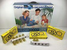 Riso Print Gocco Multi Color Printer Screen Printing Kit