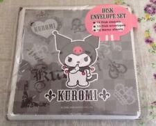 Sanrio Hello Kitty Kuromi Disk Envelope Set