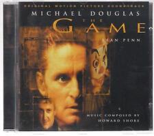 THE GAME HOWARD SHORE 1997 SOUNDTRACK OST CD ALBUM MICHAEL DOUGLAS SEAN PENN