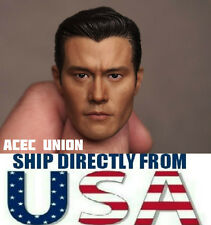 1/6 Lee Byung-Hun Terminator T1000 Head Sculpt For Hot Toys Body - U.S.A. SELLER