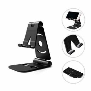 Adjustable Folding Desk Desktop Cell Phone Stand Mount Holder For iPhone Tablet