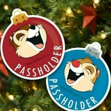 Disney Passholder Chip Dale Magnets Festival of the Holidays 2019 NEW!