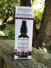 Ganique Paris Resveratrol Anti-Aging Serum 1 oz / 30 ml sealed