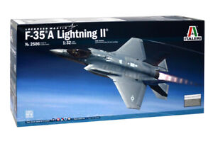 Italeri Model Kit 1/32 Lockheed F-35A Lighting II US Air Force FighterJet IT2506