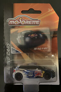 Majorette Racing Cars VW Polo R WRC Red Bull Hotwheels