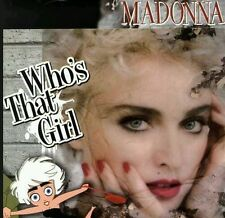 "NEW! MADONNA WHO'S THAT GIRL 12"" CARTOON PICTURE DISC + POSTER + POP UP."